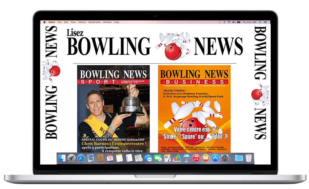 Bowling News - Business sur votre Mac Air